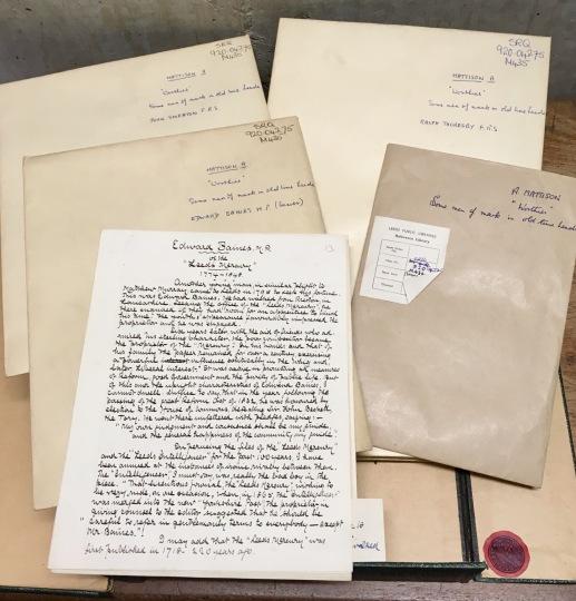 Examples of material in the Alf Mattison collection of antiquarian work