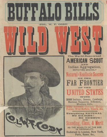 Extract from Buffalo Bill playbill