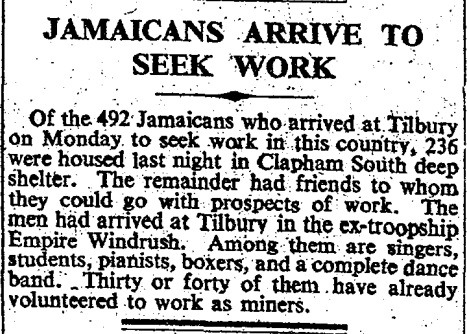 Article in The Times, June 23 1948