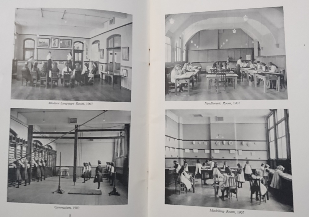 Picture of the West Leeds Girl's High School Interior, West Leeds Girl's High School 1907 - 1957