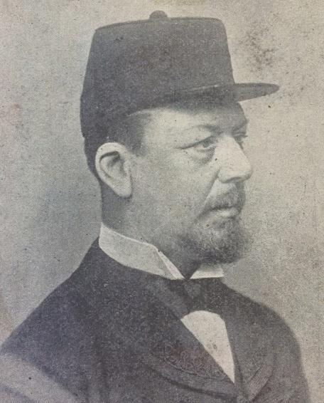 Portrait of Superintendent Henry Baker