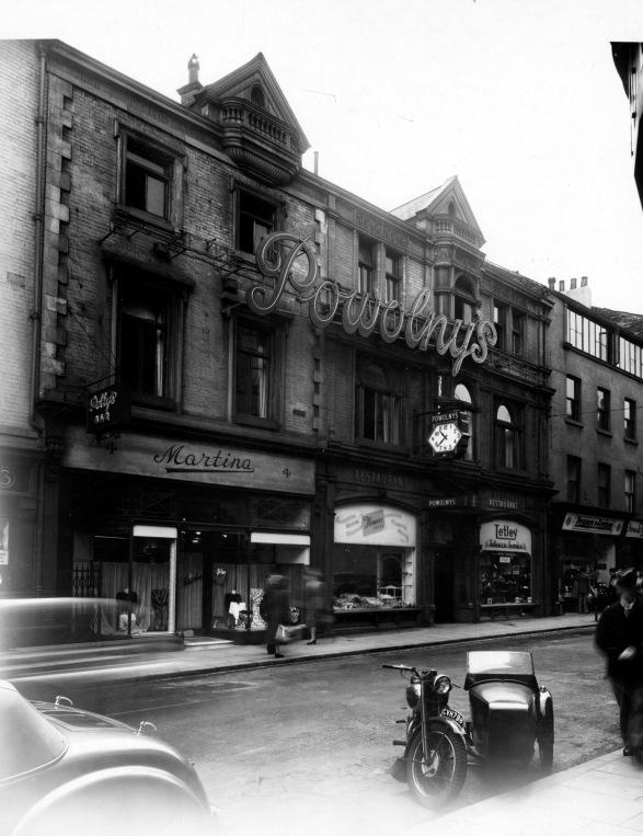 Image showing Powolny's restaurant in Leeds.