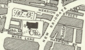 1932 OS Map St Johns Church