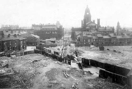 17th June 1914. Calverley Street extension (C) Leeds Libraries